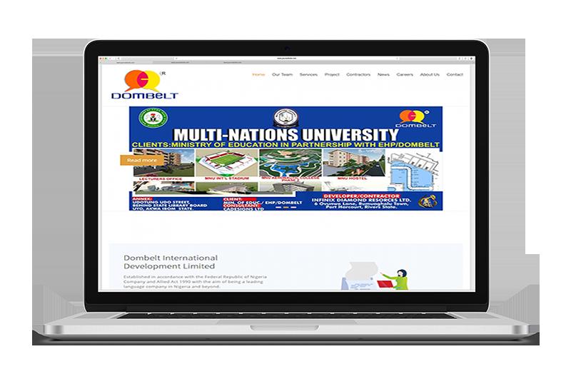 DOMBELTa Albanny Technologies - Web Design and Digital Marketing company