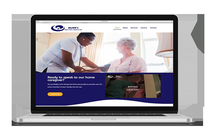 ALICE CARE HO Reduced Albanny Technologies - Web Design and Digital Marketing company